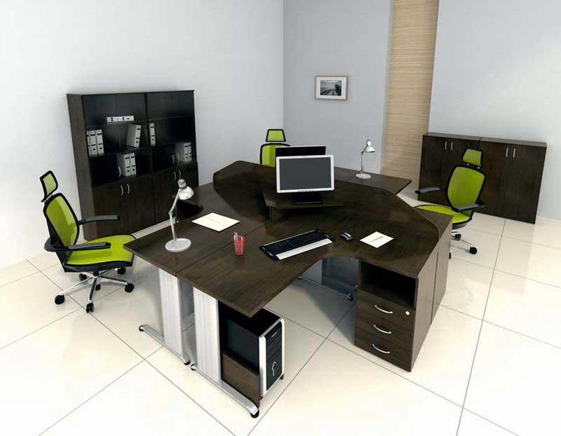 фото комплекта офисной мебели