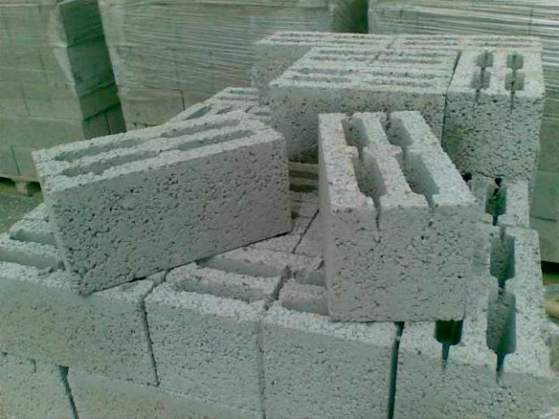 фото керамзитобенных блоков