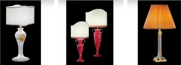 фото настольных итальянских ламп Italamp
