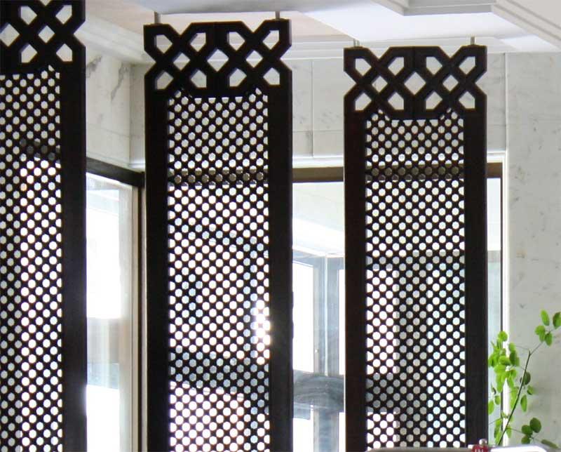 оформление окон в марокканском стиле