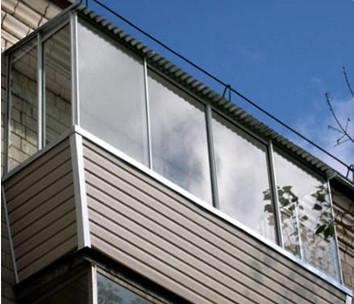 фото остекления балкона в новосибирске