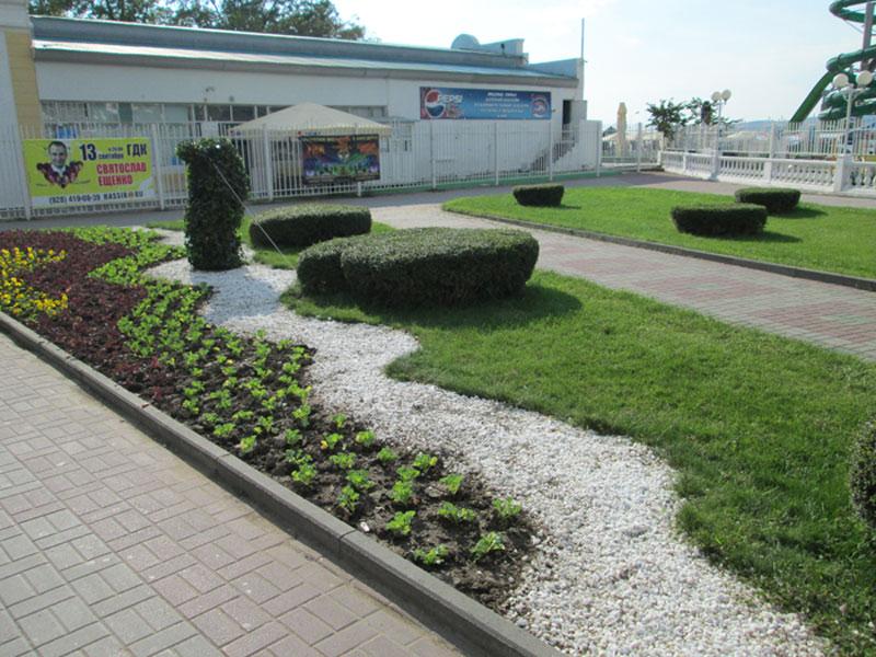фото озеленения участка