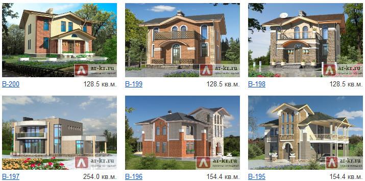 Фото проектов загородных домов
