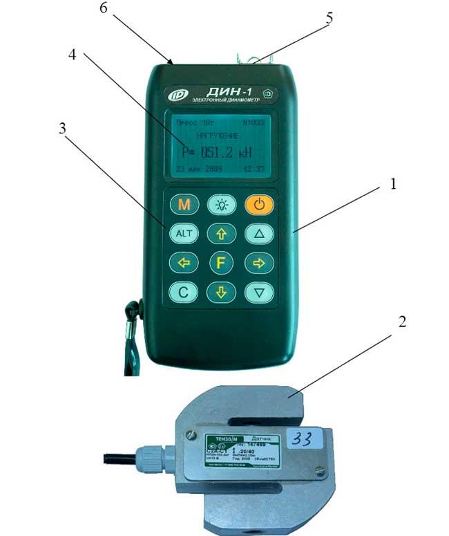 фото цифрового унивесального динамометра