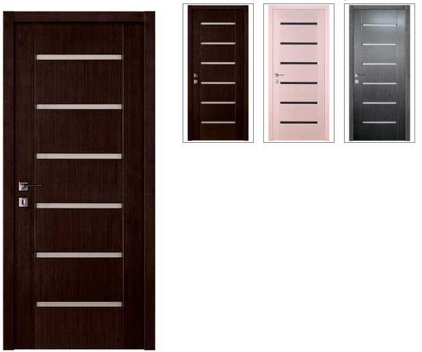 выбор цвета межкомнатной двери