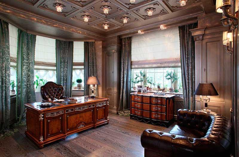 фото дизайна интерьера кабинета