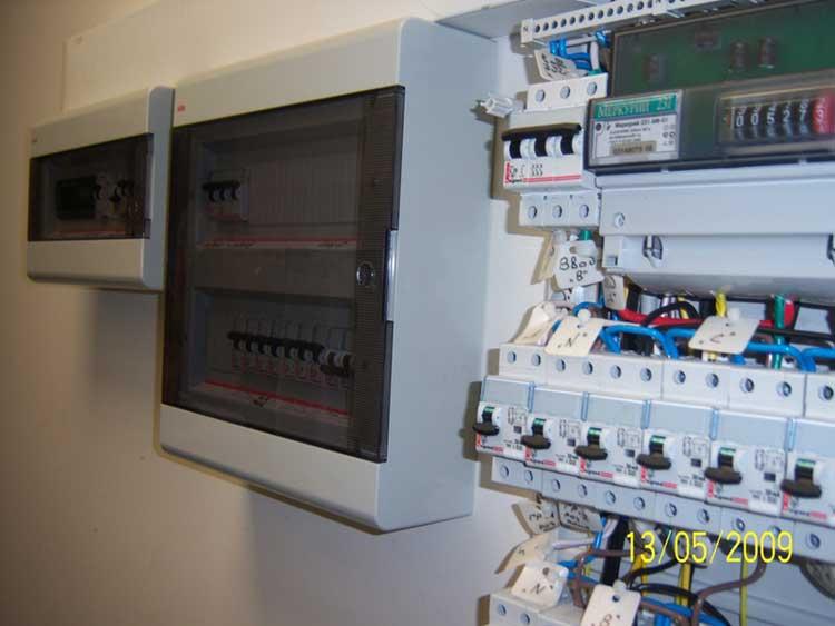 фото щита электроснабжения