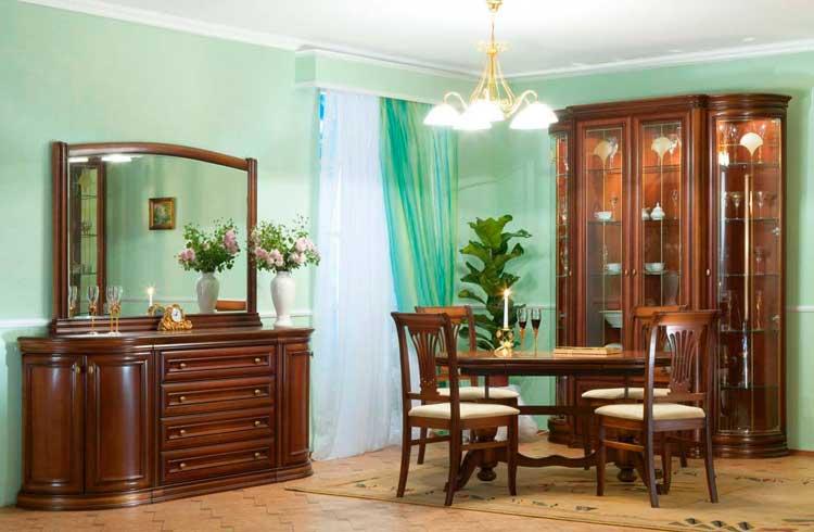 фото оформления гостиной в классическом стиле
