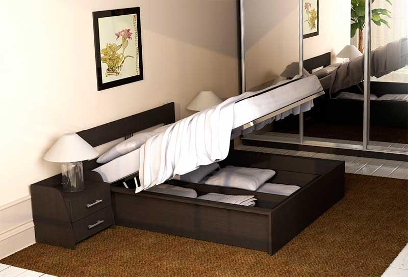 фото кровати из древесноволокнистой плиты