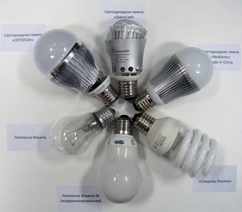 фото Led ламп