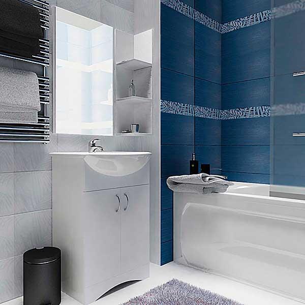 фото набора мебели в ванную из дсп