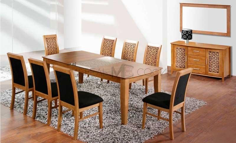 фото обеденного стола из гевели