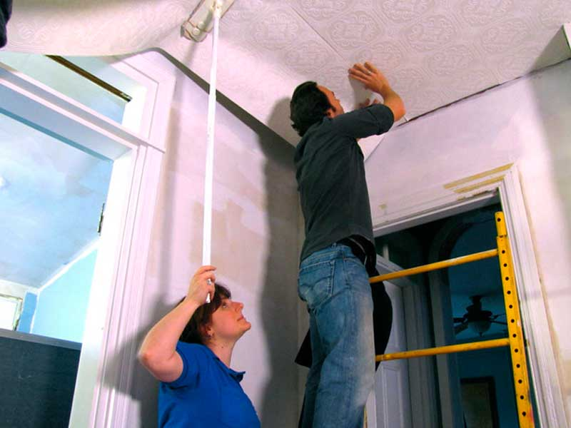 Как сделать потолок при ремонте идеально ровным