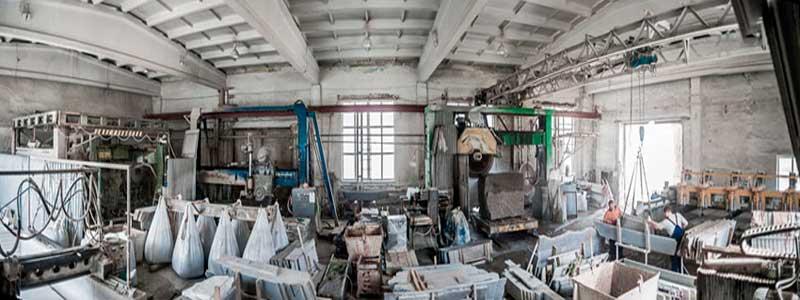 фото производства гранита