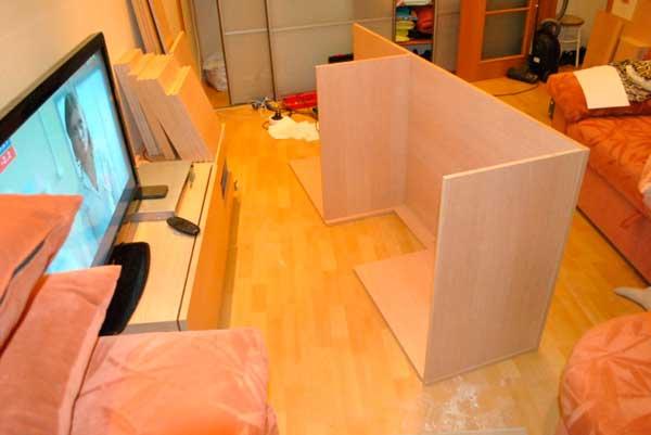 фото сборки мебели из дсп своими руками