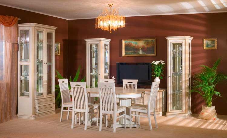 фото классического стиля в столовой сомово