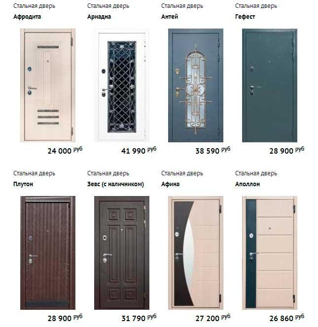 фото входных металлических дверей