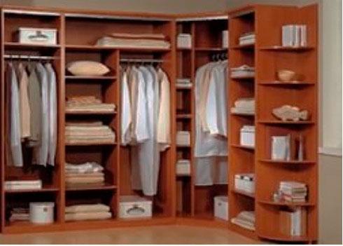 фото гардеробной комнаты