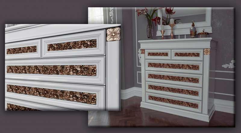 московская корпусная мебель романтика