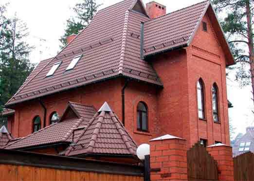 фото мансардная крыша