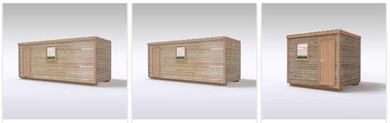 фото деревянных бытовок