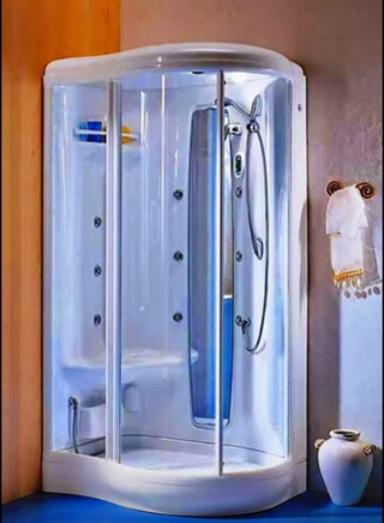 душ в маленькую ванную