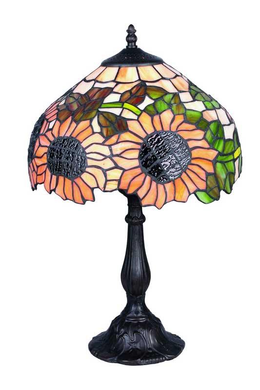 выбор настольных ламп в стиле Тиффани