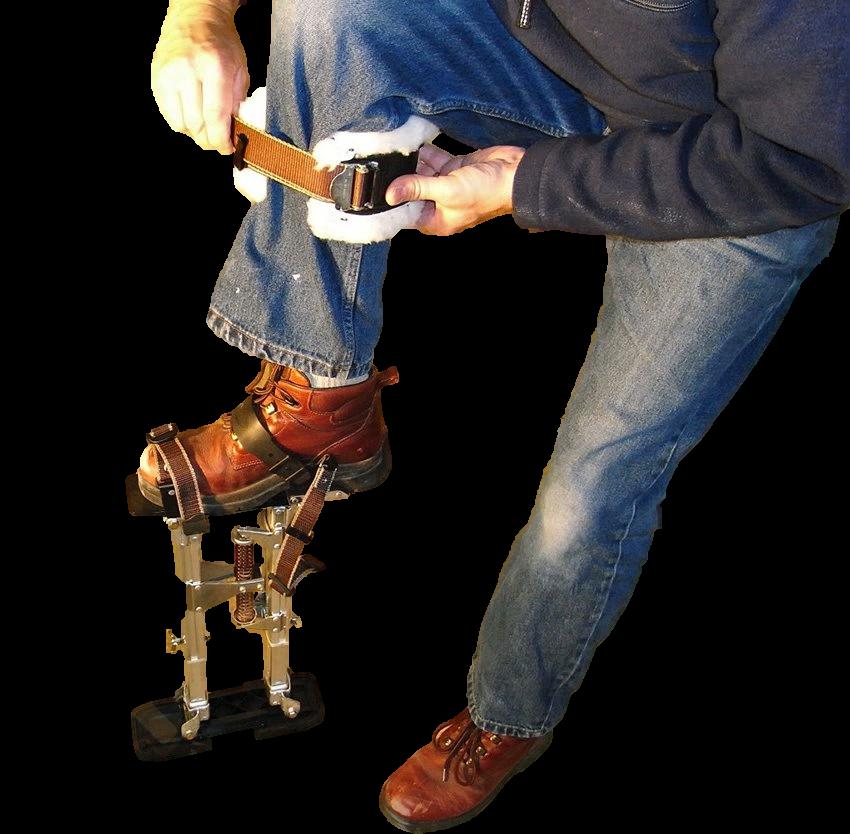 крепление строильных ходуль