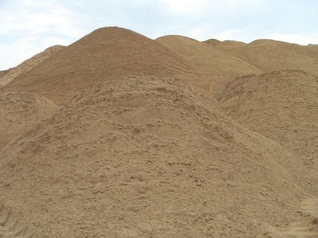 фото строительного песка