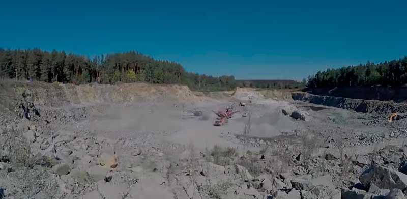 разработка и добыча песка
