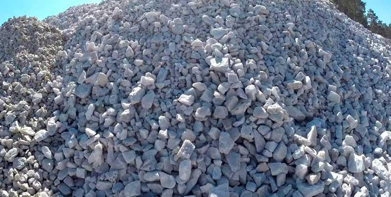 строительный материал горной породы