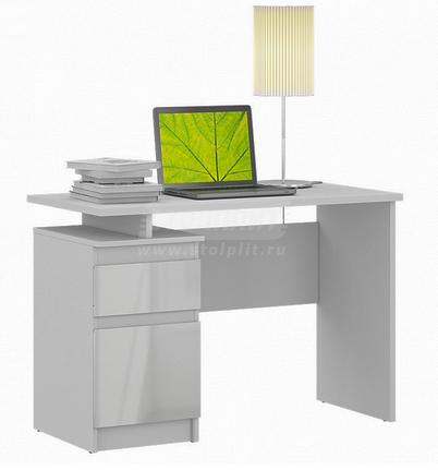 Медея СБ-2513 Стол компьютерный (Белый)