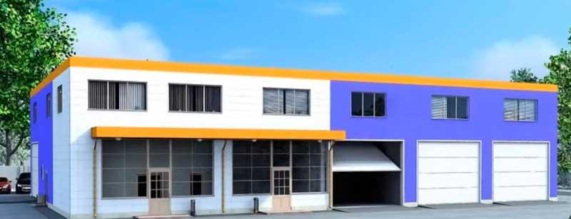 подсобно-производственное здание