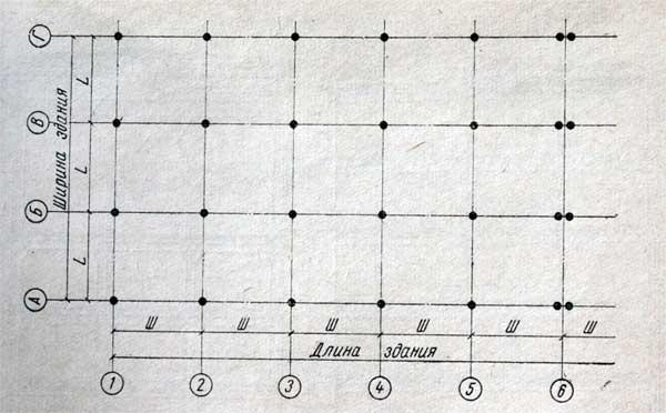 схематический план сетка