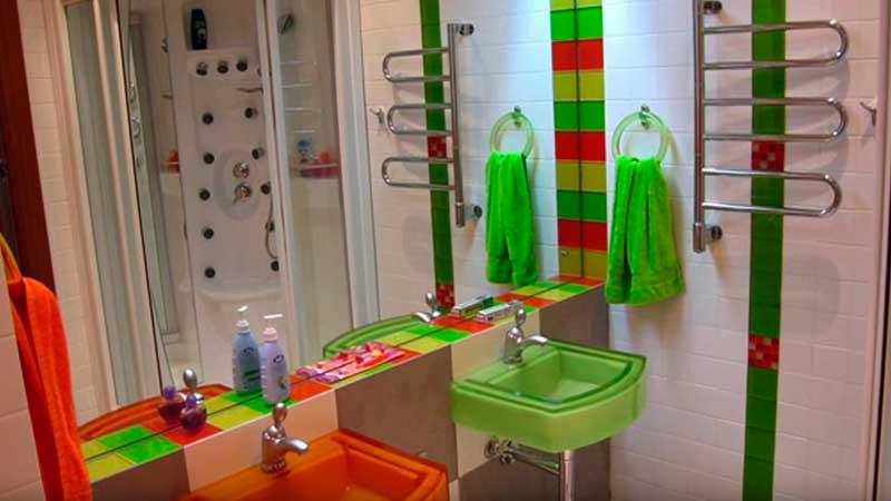 красивый интерьер ванной фото