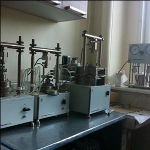лаборатория по анализу почв и грунта