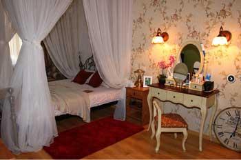 уникальный декор спальни