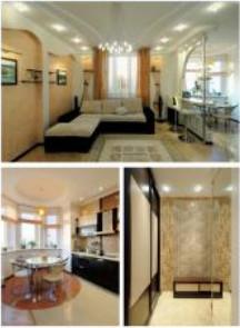 романтический дизайн интерьера квартиры