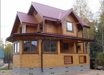 брусовой дом, дом из бруса