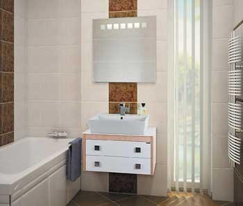 комплект мебели для ванной комнаты, мебель для ванной на заказ