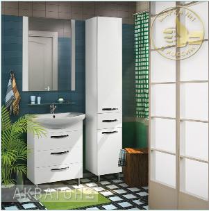 мебель для ванных комнат акватор
