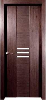 ламинированая шпонированная межкомнатная дверь