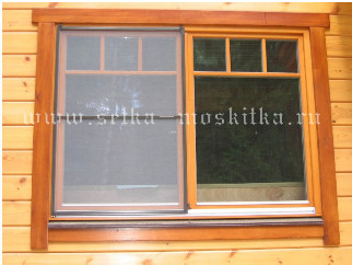 виды москитных сеток для окна и двери