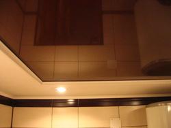 фото двухуровневых натяжных потолков