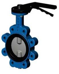 дисковый поворотный затвор