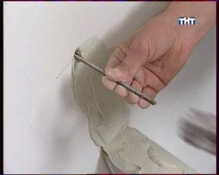 анкер фиксации перегородки к стене