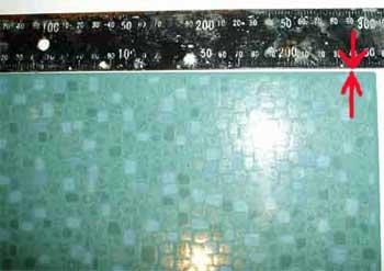 характеристики плитки, межплиточный шов