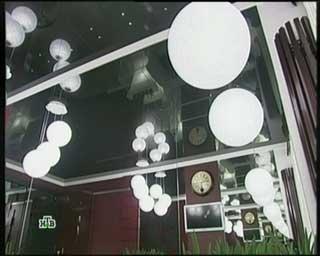 фото черного потолка, валерия исакова
