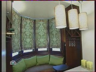лоджия, диванчик, шкафы