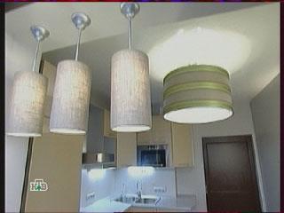 Освещение, потолочный светильник, подсветка рабочей зоны